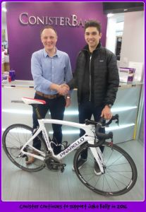 Jake Kelly and Business Development Manager Andy Bass